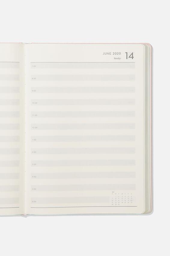 2020 A4 Daily Buffalo Diary, BLUSH