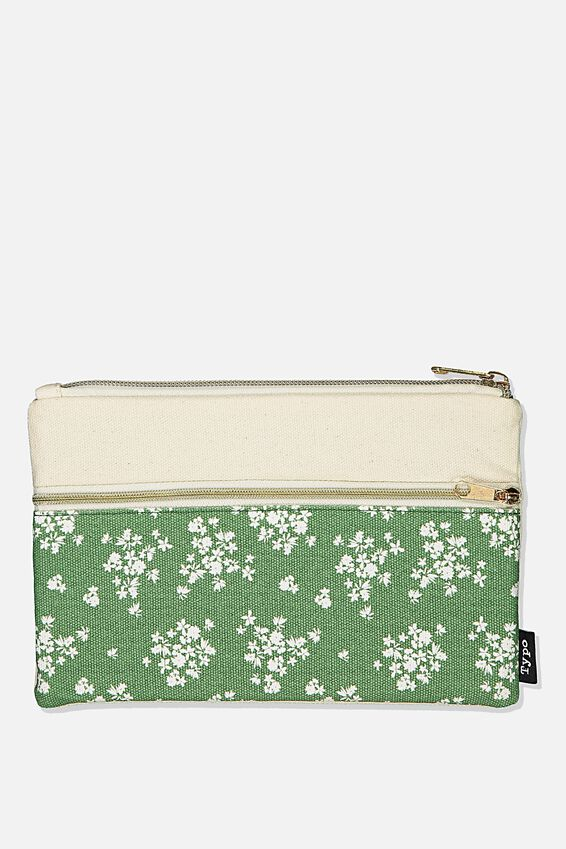 Archer Pencil Case, BASIL DITSY