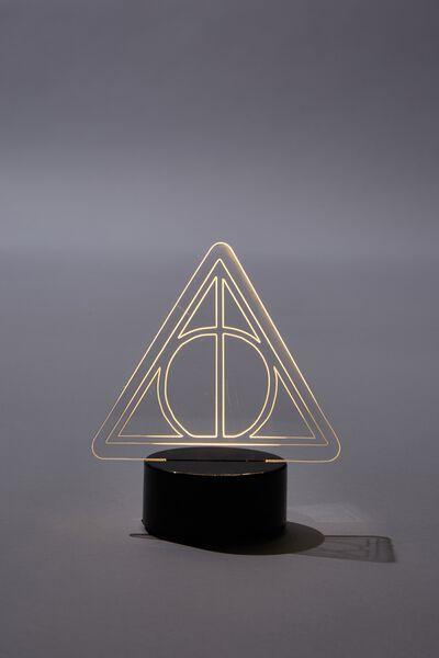 Mini Acrylic Light, LCN WB HP DEATHLY HALLOWS