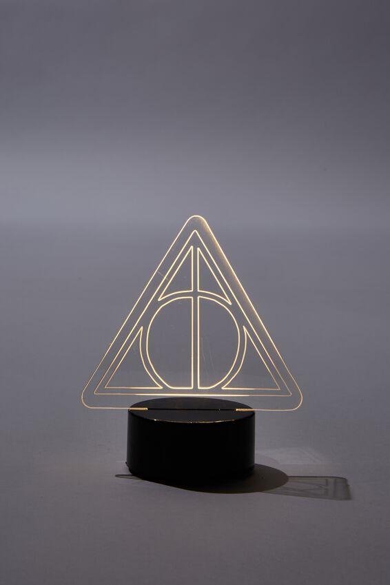 Harry Potter Mini Acrylic Light, LCN WB HP DEATHLY HALLOWS