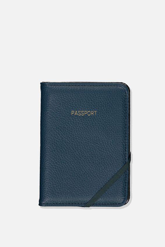 Passport Holder, TEAL