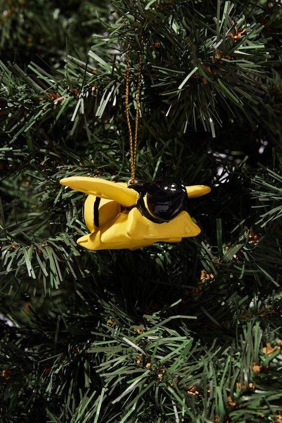 Resin Christmas Ornament, BEE