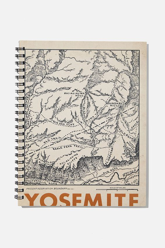 A4 Campus Notebook Recycled, YOSEMITE