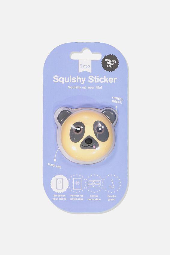 Squishy Sticker, PUG