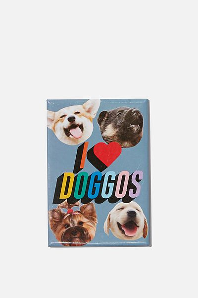 Quirky Magnets, I LOVE DOGGOS