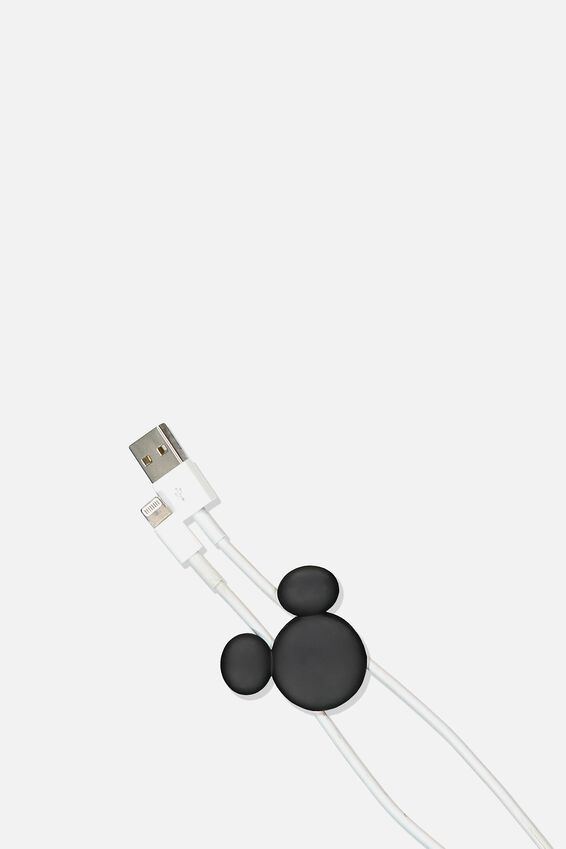 Disney Cable Pinch 2 Pack, LCN DIS MICKEY HEAD