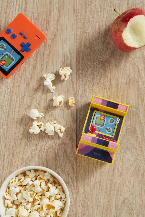 Compact Arcade Game, ORANGE
