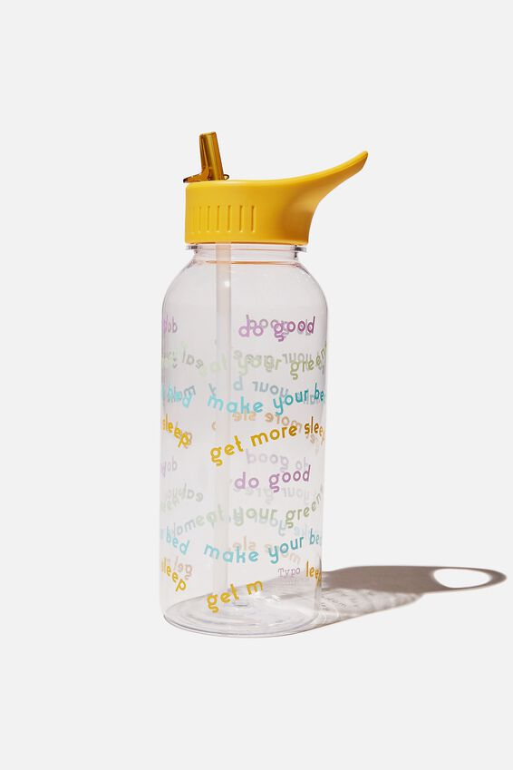 Drink It Up Bottle, GET MORE SLEEP