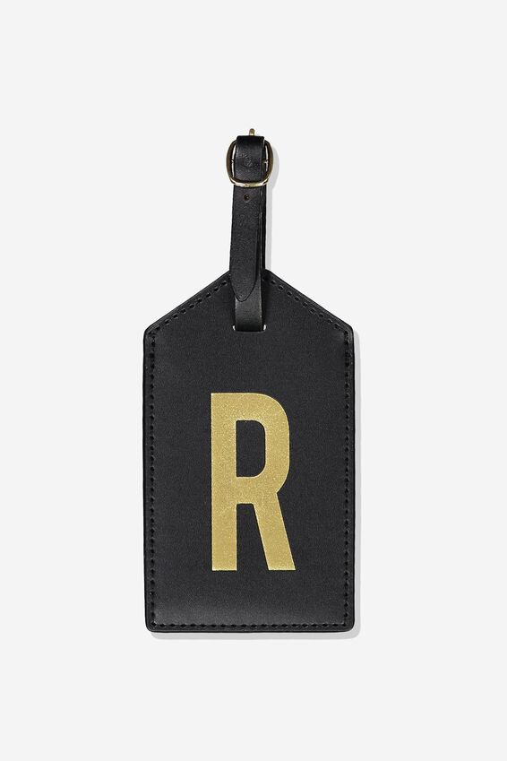 Alpha Luggage Tag, R