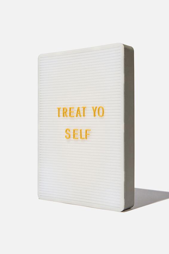 Peg Board Light Box, WELSH SLATE & MUSTARD