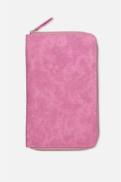 Odyssey Travel Compendium, SUNFLOWER TOOLED RASPBERRY