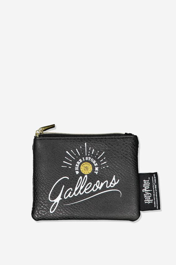 Fashion Coin Purse, LCN WB HPO GALLEONS