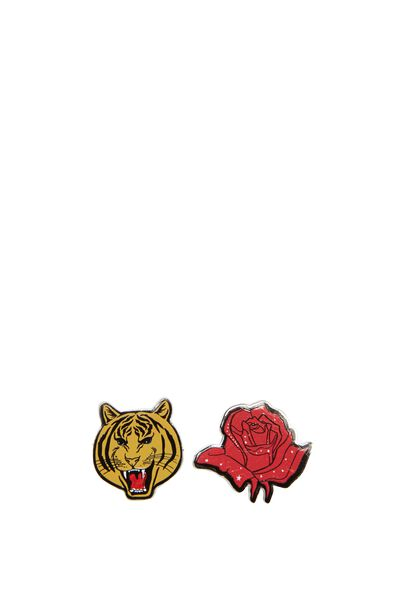 Novelty Earrings, TIGER AND ROSE