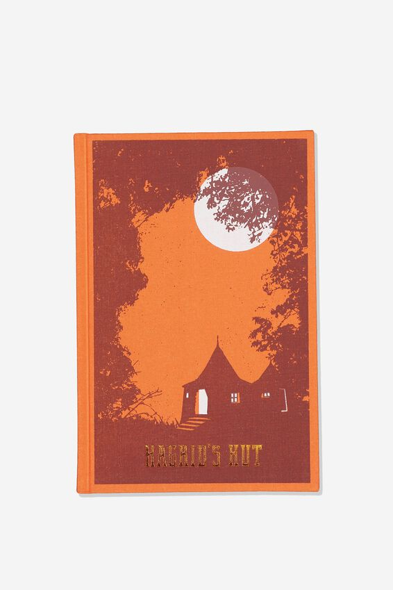 A5 Harry Potter Print Notebook, LCN WB HP HAGRIDS HUT