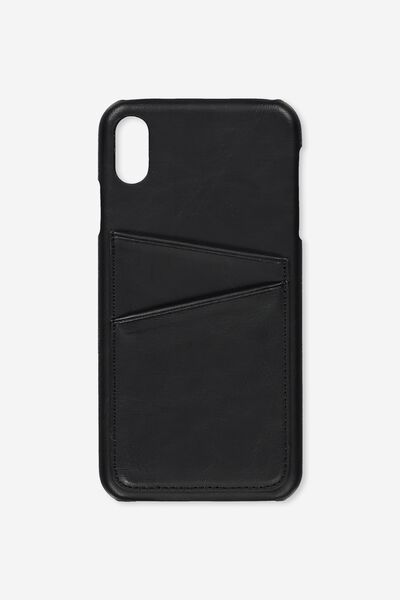Phone Case iPhone Xs Max, BLACK