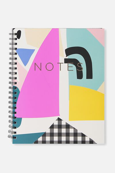 A4 Campus Notebook - 240 Pages, ABSTRACT NOTES SPLICE
