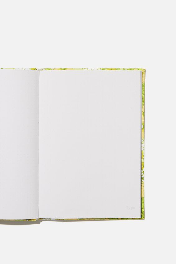 A5 Dot Oxford Notebook, JONI FLORAL CITRINE