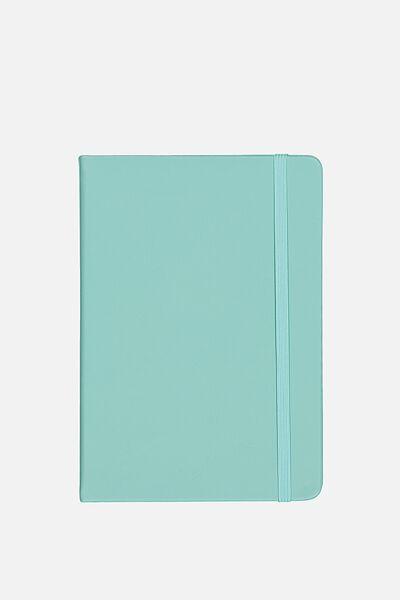 A5 Blank Buffalo Journal, BLUE