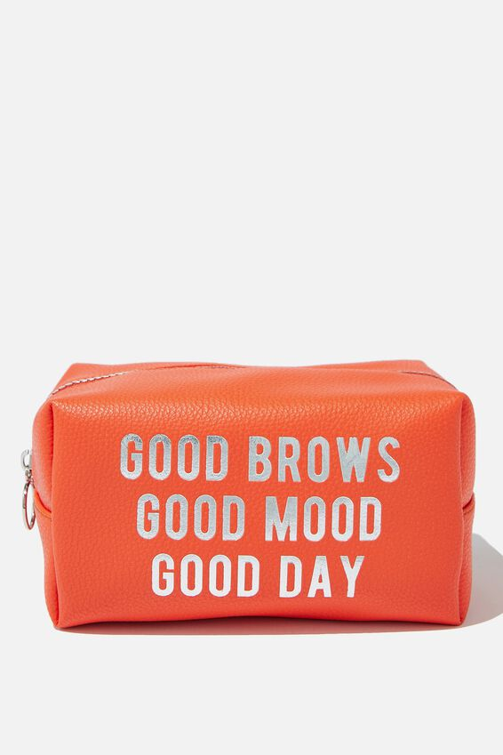 Made Up Cosmetic Bag, GOOD BROWS