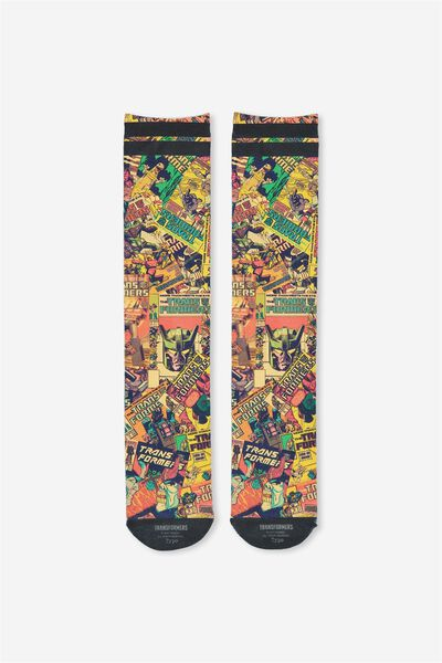 Mens Novelty Socks, LCN TRANSFORMERS