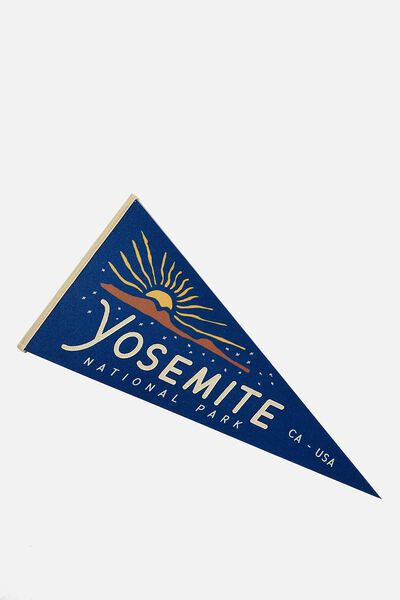 Pennant Wall Flag, YOSEMITE