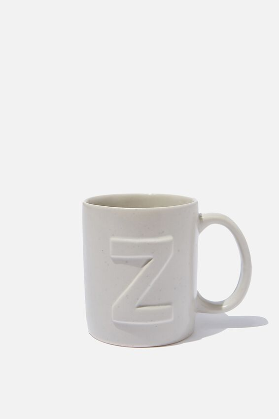 Alphabet Anytime Mug, SPECKLED Z