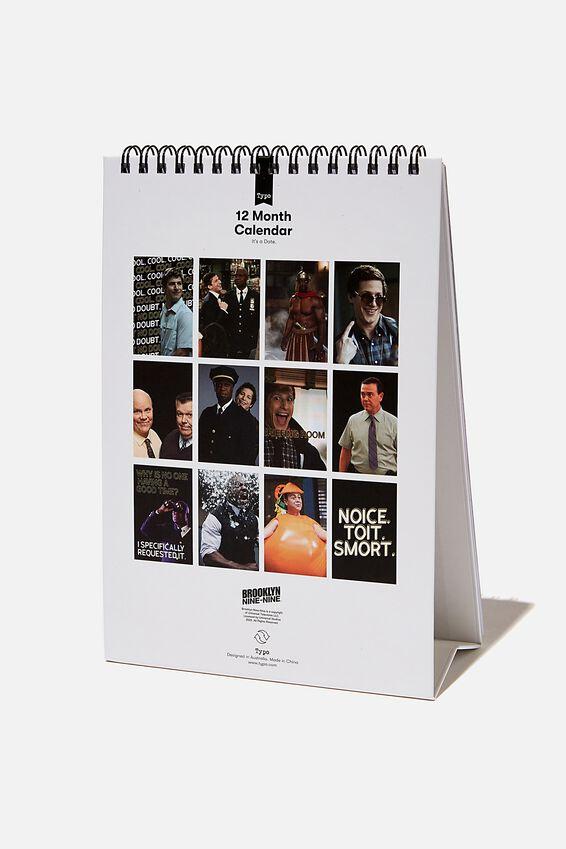 2021 Get A Date Flip Calendar, LCN UNI BROOKLYN 99