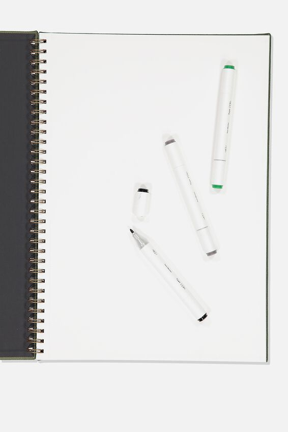A3 Premium Sketch Book, KHAKI