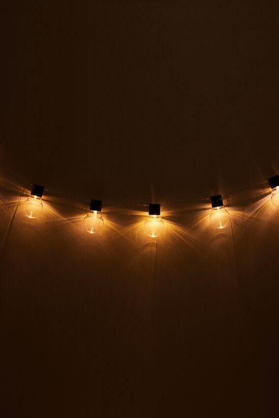 Festoon String Light, CLEAR BULBS