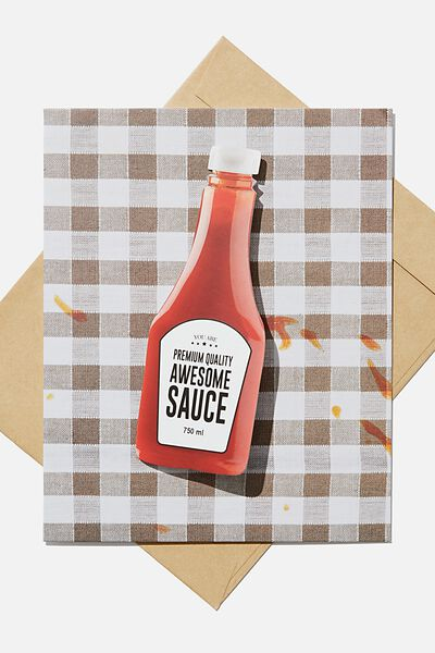 Premium Love Card, BOBBLE AWESOME SAUCE