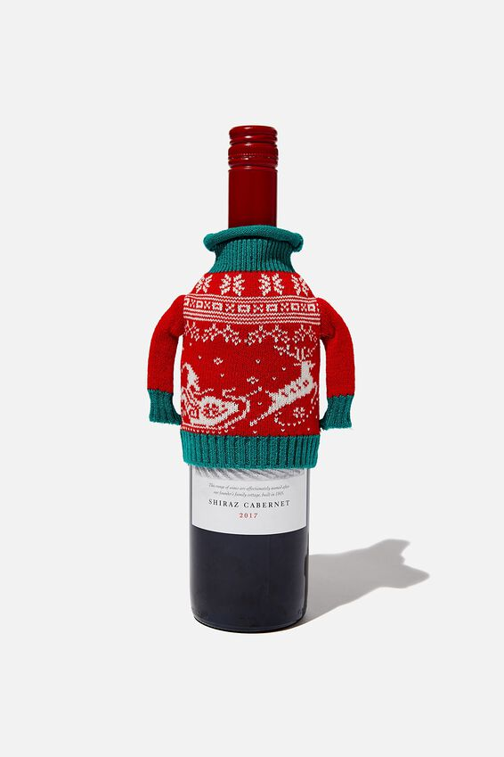 Wine Sweater Bag, CRAPPY NEW YEAR!