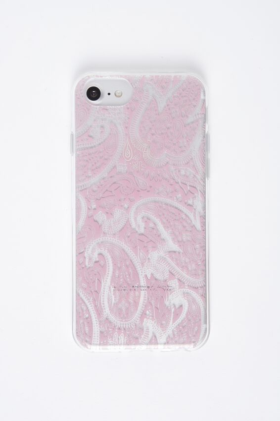 Printed Phone Cover Universal 6,7,8, BLUSH LACE