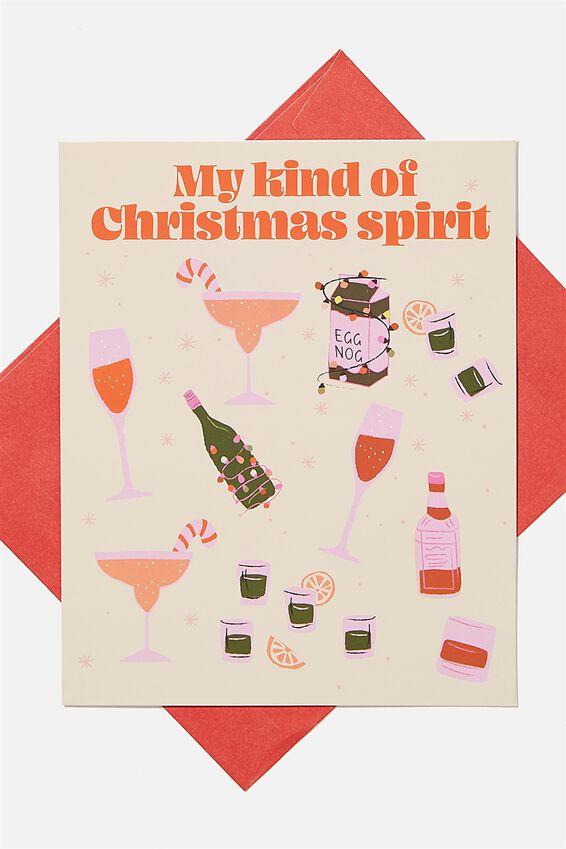 Christmas Card 2020, MY KIND OF CHRISTMAS SPIRIT!
