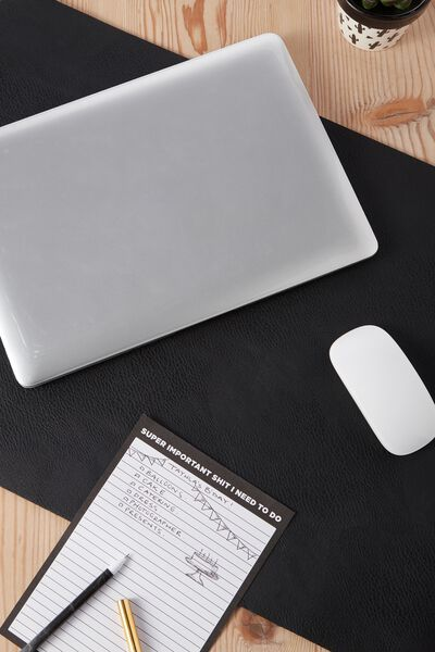 A2 Jumbo Mouse Pad, BLACK