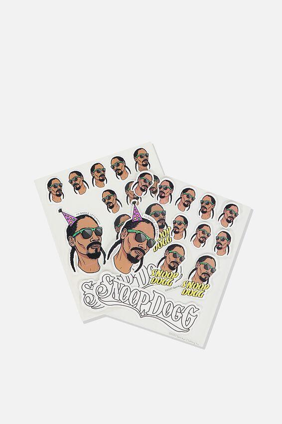 Snoop Dogg Sticker Pack, LCN MT SNO SNOOP DOGG