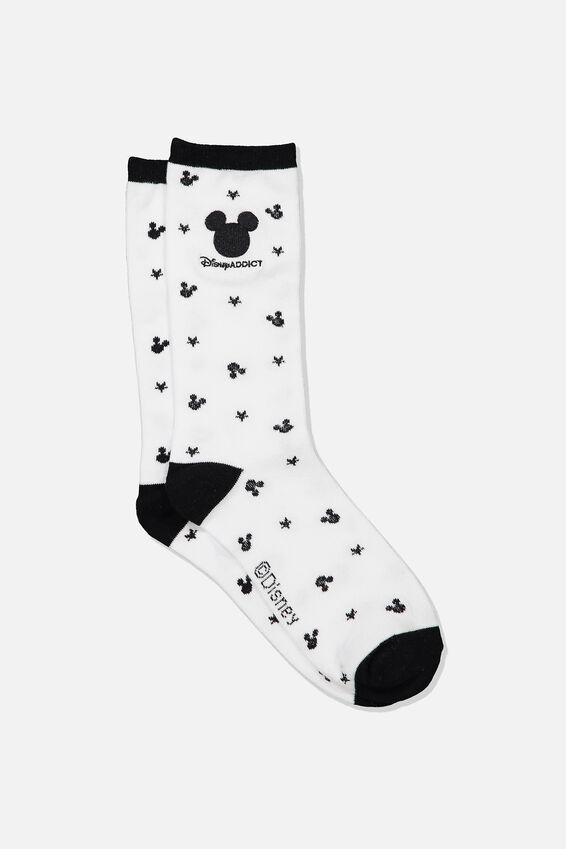 Disney Womens Novelty Socks, LCN DIS MICKEY FACES