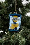 Glass Christmas Ornament, CRISPS PACKET