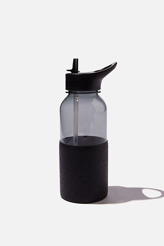 Premium Drink It Up Bottle, BLACK POLKA