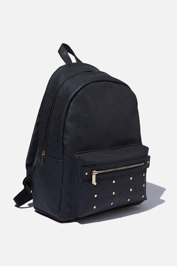 Commuter Backpack, STUDDED POCKET
