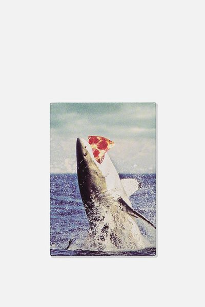 Quirky Magnets, PIZZA SHARK