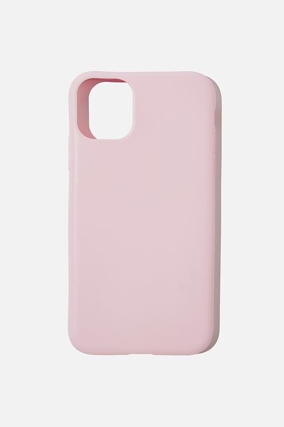Recycled Phone Case iPhone 11, PLASTIC PINK