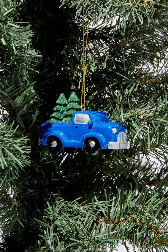 Christmas Ornament, UTE WITH TREE
