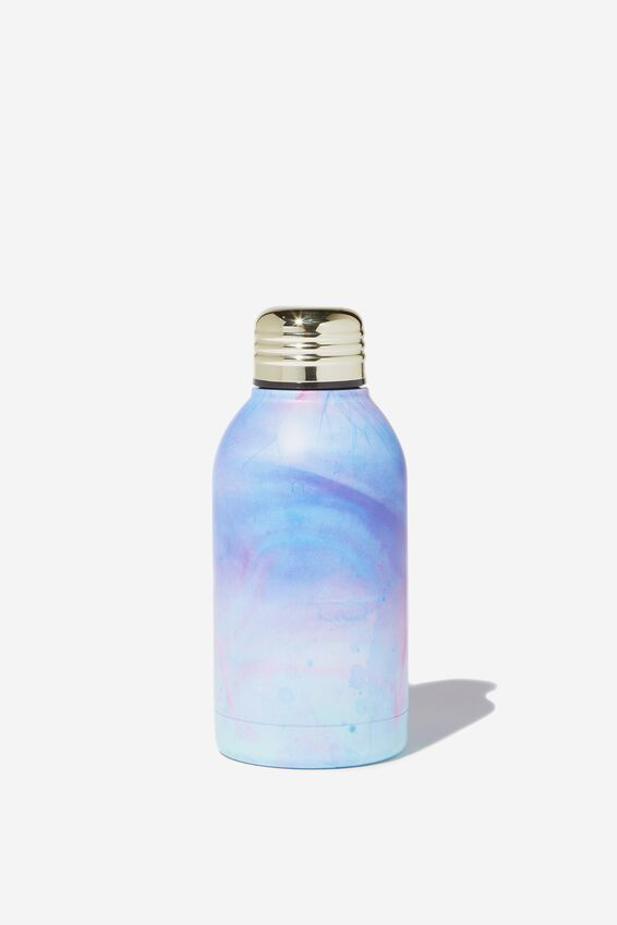 Mini Metal Drink Bottle, PARADISE WATERCOLOUR