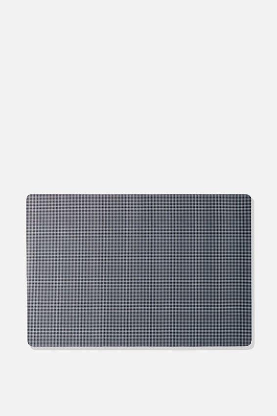 A2 Jumbo Mouse Pad, BLACK & WHITE GRID
