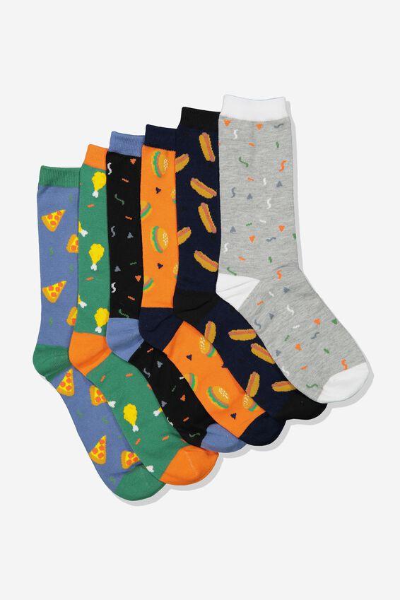 Odd Sock Pack, FUNKY FOOD