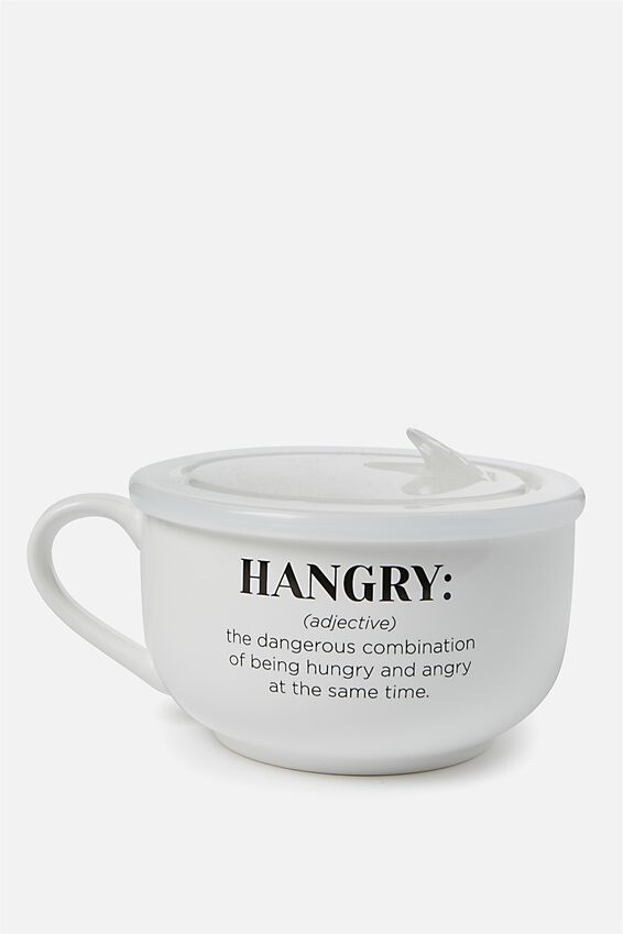 Big Mug Bowl, HANGRY