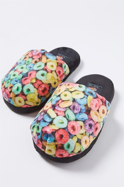 Novelty Slippers, LCN FROOT LOOPS