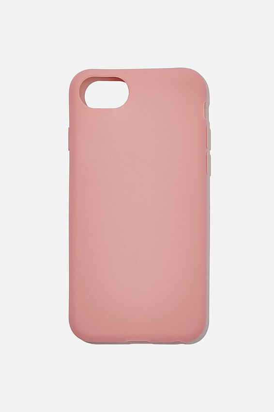 Slimline Recycled Phone Case Iphone SE, 6,7,8, DUSTY ROSE