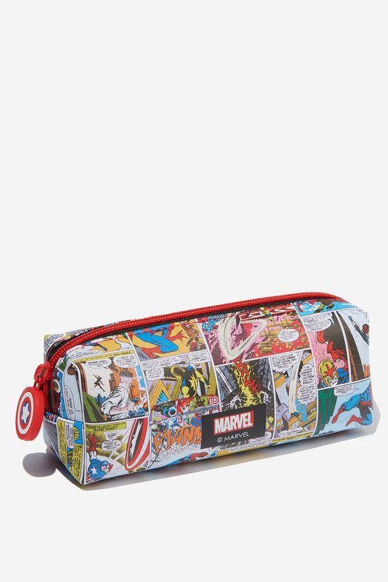 Marvel Bailey Pencil Case, LCN MAR COMIC BOOK YARDAGE