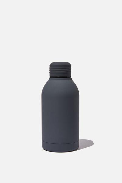Mini Metal Drink Bottle, WELSH SLATE